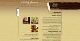 תצוגה מקדימה של אתר חברת טעם השף