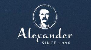לוגו של יקב אלכסנדר
